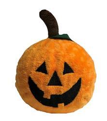 fabdog Pumpkin faball Squeaky Dog Toy - Small