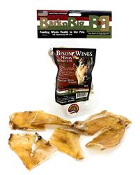 Boneless Bison Wings (Scapula) Minis - 6 count Resealable Bags