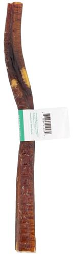 """Thick Beef Bully Sticks 12"""" Individual with UPC label"""
