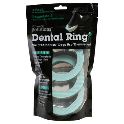 Omega Paw Dog Dental Ring - Available in 3 Sizes