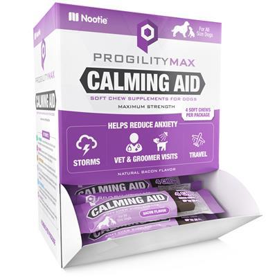 Progility Max Single Serve Calming Aid Display (30 individual packages per display)