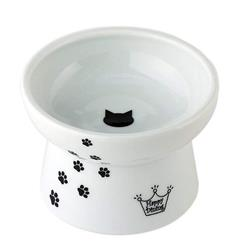 Cat Design - Raised Cat Food Bowl