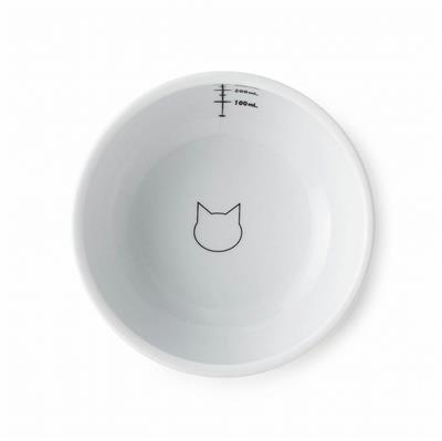 Cat Design - Extra Tall Raised Cat Water Bowl