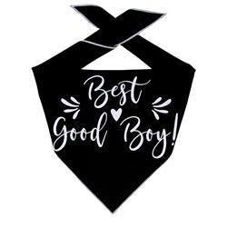 "Wedding Bandana, ""Best Good Boy!"" Tie Dog Bandana, Engagement Bandana, Best Man, Best Dog"
