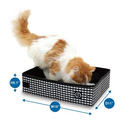 Pop-up Portable Cat Litter Box