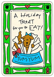 Crunch Card - Holiday Treat