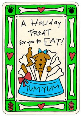 Crunch Card - Holiday Treat
