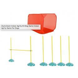 Zip Zoom Indoor Dog Agility Starter Kit