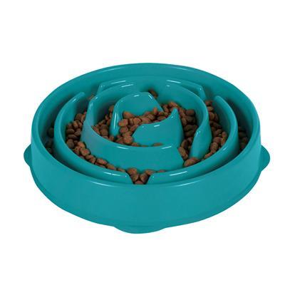 Fun Feeder Slo-Bowl - Teal by Outward Hound®