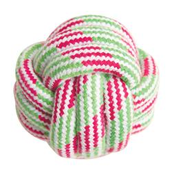 "Knot Your Ball - 3.5"" Rope Toy (Assorted Colors)"