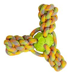 "Mini Fling N' Fun - 4"" Rope Toy (Assorted Colors)"