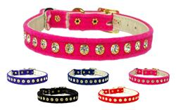 Velvet Cat Safety with Band Collar