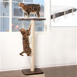 """Ultimate Window Perch Cat Climber & Tree (45"""" Tall)"""