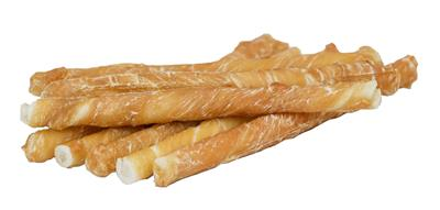 Small Dog Size - Chicken Wrapped Rawhide Dog Treats