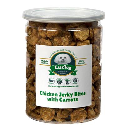 Chicken with Carrot Jerky Bites