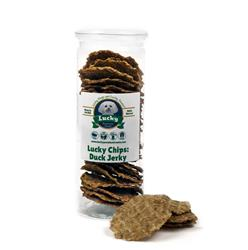 Lucky Chips Duck Jerky Treats