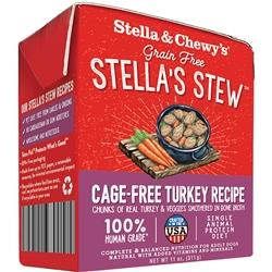 STELLA & CHEWY'S DOG STEW CAGE FREE TURKEY 11OZ