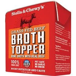 STELLA & CHEWY'S DOG BROTH TOPPER GRASS FED BEEF 11OZ