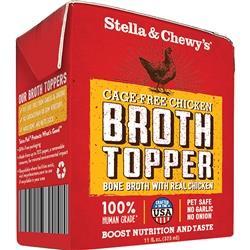 STELLA & CHEWY'S DOG BROTH TOPPER CHICKEN 11OZ