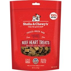 STELLA & CHEWY'S DOG FREEZE-DRIED TREAT BEEF HEART 3OZ