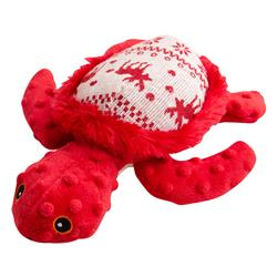 """Merry the Turtle (Ugly Christmas Sweater -Red) - 10"""" Plush Toy"""