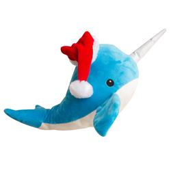 "St. Nikki (the Narwhal) - 14"" Plush Toy"