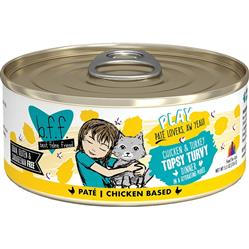 BFF CAT PLAY TOPSY TURVY CHICKEN 5.5 OZ. CASE OF 24 (CASE OF 24)