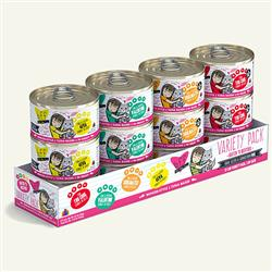 BFF CAT VARIETY PACK 3 OZ.  (CASE OF 12)