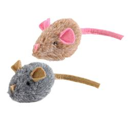 "2"" Plush Mouse Cat Toy Assorted with Sound by HUNTER"