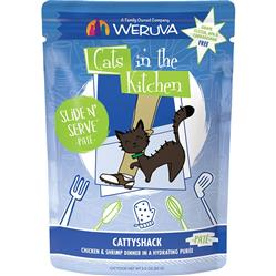 CATS IN THE KITCHEN CAT SLIDE CATTYSHACK 3 OZ. POUCH