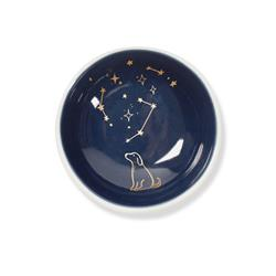 DOG CELESTIAL ROUND TRINKET TRAY