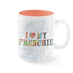TREY SPEEGLE I LOVE MY FRENCHIE MUG
