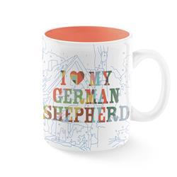 TREY SPEEGLE I LOVE MY GERMAN SHEPHERD MUG