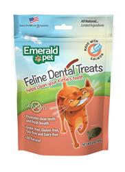 EMERALD PET CAT DENTAL TREAT SALMON 3 OZ