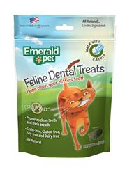 EMERALD PET CAT DENTAL TREAT CATNIP 3 OZ
