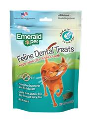 EMERALD PET CAT DENTAL TREAT OCEAN FISH 3 OZ