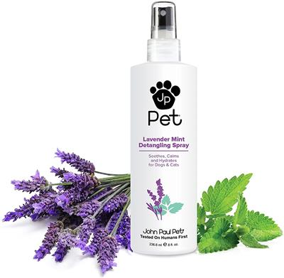 Lavender Mint Detangling Spray w/ Brush Set