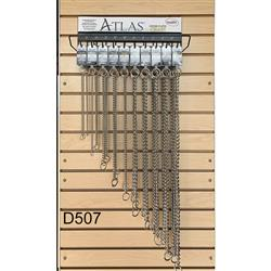 Atlas Choke Chain Display Assortment
