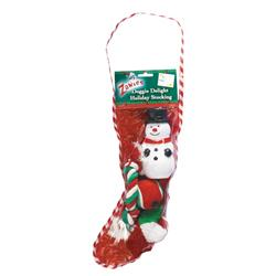 Zanies Doggy Delite Holiday Stocking, 14-Inch Snowman