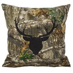 Camo Throw Pillow 12X12 ""