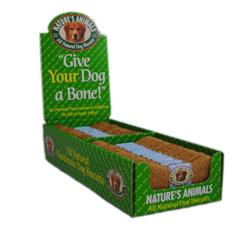 Natures Animals Gourmet Select Organic Bone Chicken 4in 2-24pc Boxes