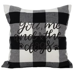 Buffalo Check Throw Pillow 12X12 ""