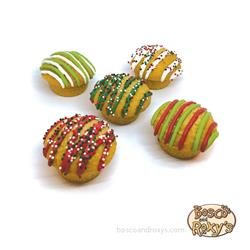 Happy Howlidays! Christmas Vanilla Cupcakes, 25/Case, MSRP $1.99