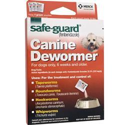Merck Safeguard Canine Dewormer 3-pack (1 gm)