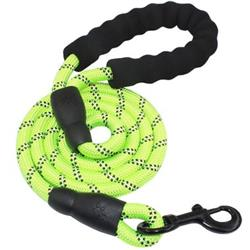Otis & Claude Reflective Rope Leash - Green