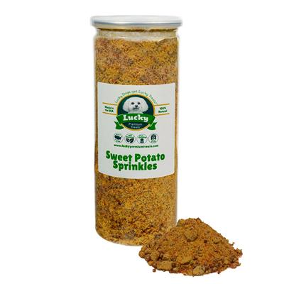 Sweet Potato Sprinkles for Dogs