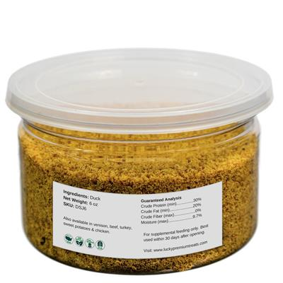 Duck Jerky Sprinkles - 6oz. Jars