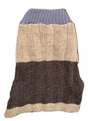 Color Block Sweater Blue/Black