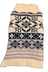 Blue Nordic Pattern Sweater