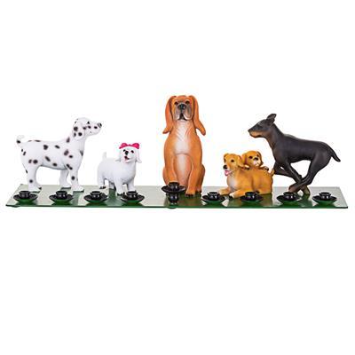 Bark Avenue Pups Menorah for Chanukkah